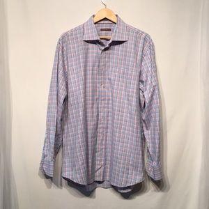 Peter Millar 100% Cotton Size XL Button Down Shirt